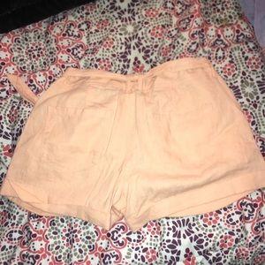 Peach shorts!